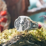 Ring Inquisition Insignia Brass Dow