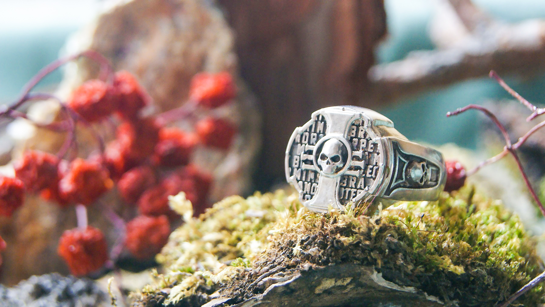 - Ring Inquisition Insignia Brass Dow 40K