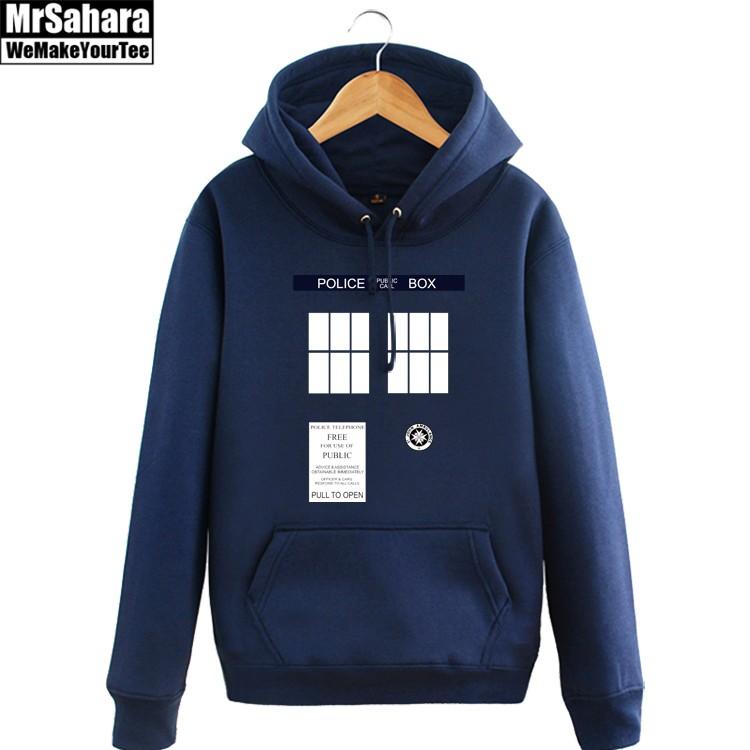 Merchandise Hoodie Tardis Doctor Who Phone Pullover