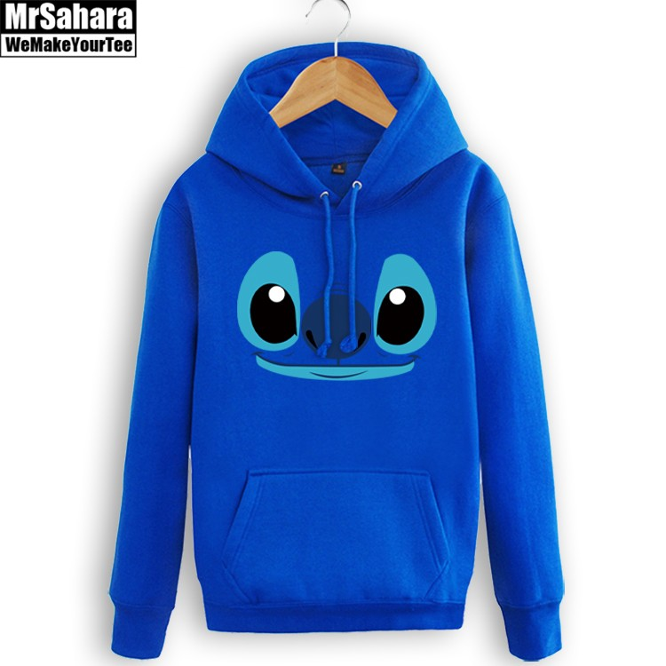 Collectibles Hoodie Lilo Stitch Disney Cartoon Movie Pullover