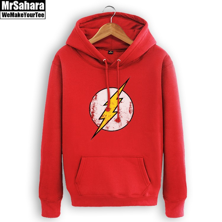 Collectibles Hoodie Flash Logo Dc Universe Pullover