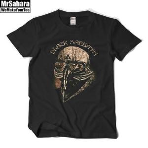 Merch T-Shirt Mens Black Sabbath Cover Music