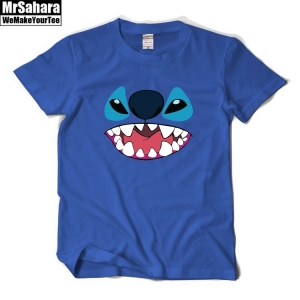 Merchandise T-Shirt Mens Lilo And Stitch Disney Monster