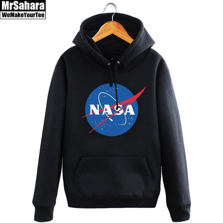 Collectibles Hoodie Nasa Logo Emblem Space Pullover