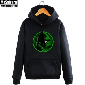 Merchandise Hoodie Green Arrow Dc Tv Universe Pullover