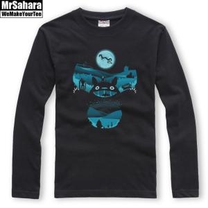 Merchandise Longsleeve Mens Miyazaki My Neighbour Totoro