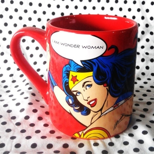 Buy Ceramic Mug Wonder Woman Comics Quotes Cup merchandise collectibles