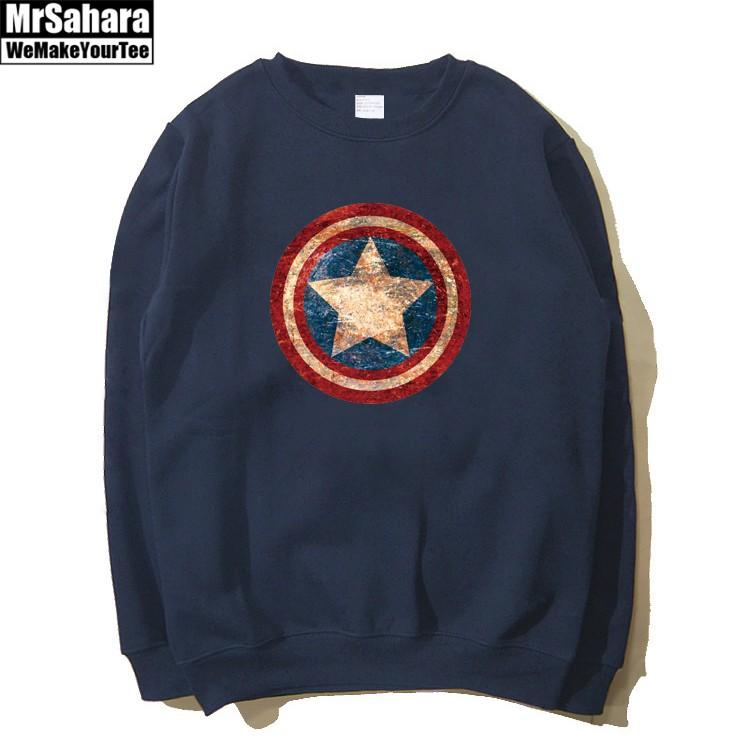 Merch Sweatshirt Captain America Avengers Star