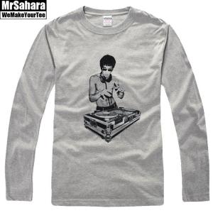 Merchandise Longsleeve Mens Bruce Lee Dj'Ing Art