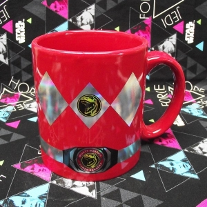 Buy Ceramic Mug Red Ranger Power Rangers Cup merchandise collectibles