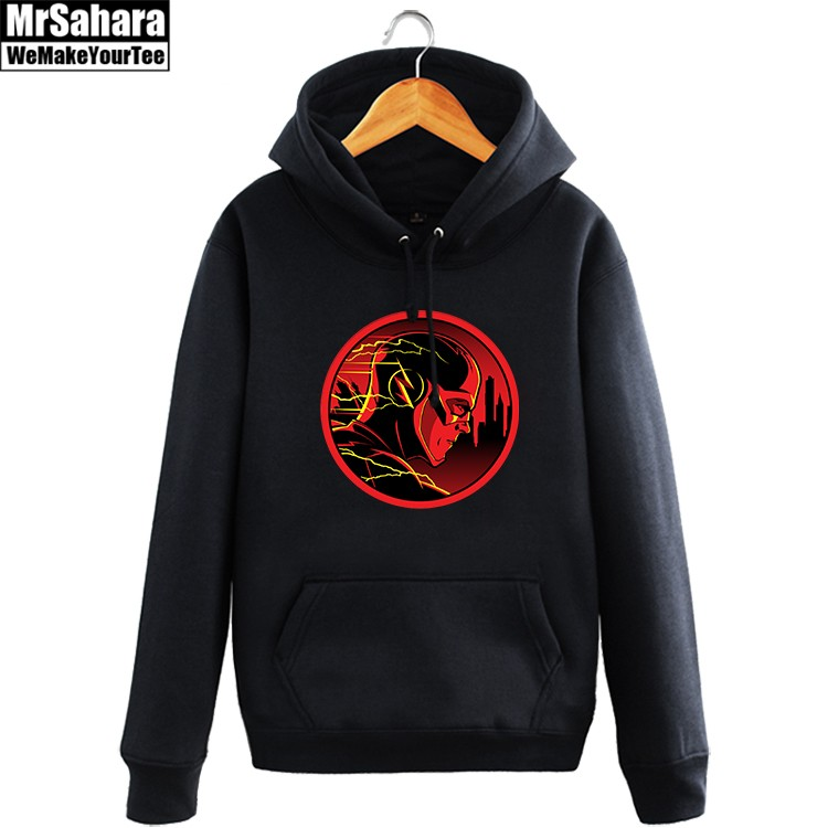 Collectibles Hoodie Flash Dc Universe Tv Series Pullover
