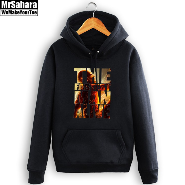 Merchandise Hoodie Flash The Fastest Man Alive Dc Pullover