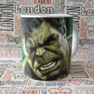 Buy Ceramic Mug Hulk Bruce Banner Avengers Cup Merchandise collectibles