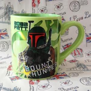 Buy Ceramic Mug Star Wars Boba Fett Hunter Cup merchandise collectibles