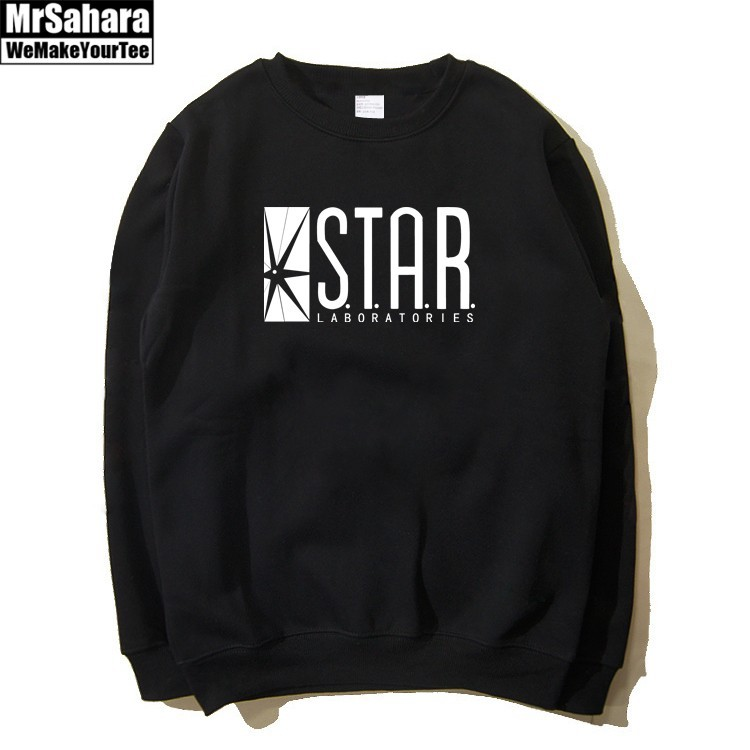 Merchandise Sweatshirt Star Lab Flash Dc Comics
