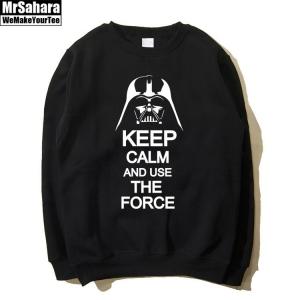 Merchandise Sweatshirt Keep Calm Use Force Star Wars Vader