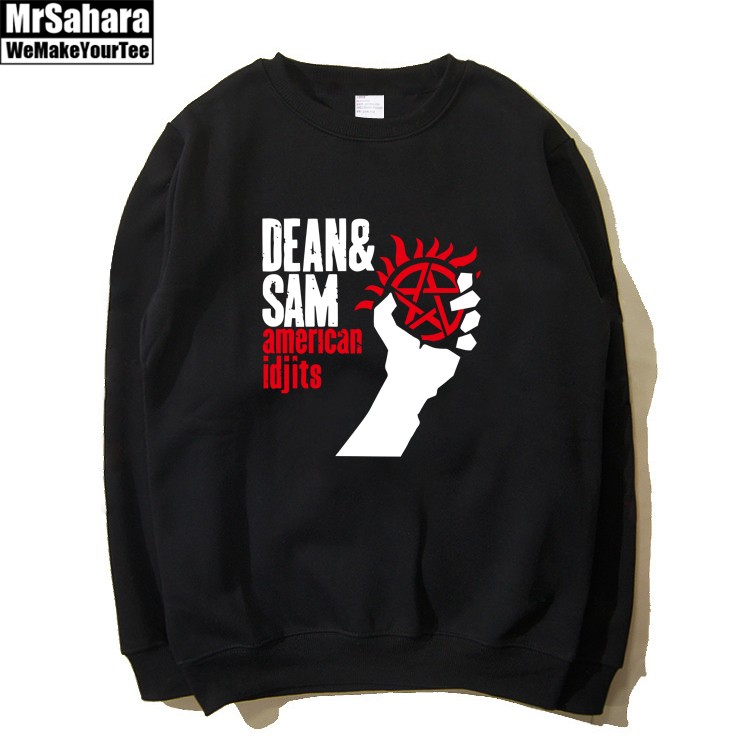 Collectibles Sweatshirt Dean And Sam Supernatural