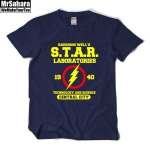 Buy T shirt Mens Star Labs Flash DC Unieverse TV