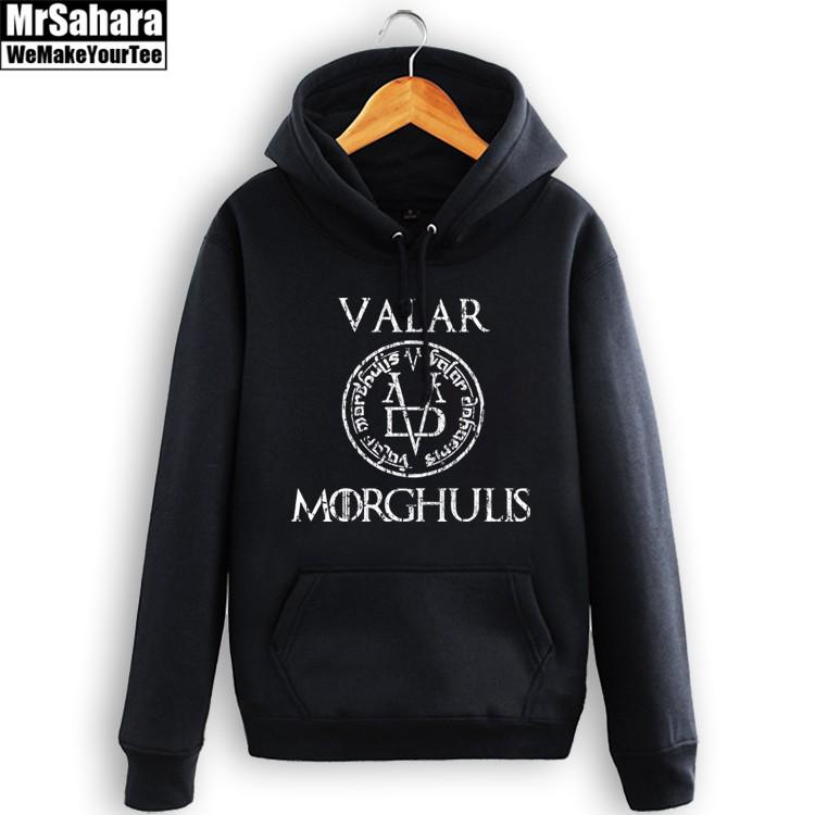 Merchandise Hoodie Game Of Thrones Valar Morghulis Pullover
