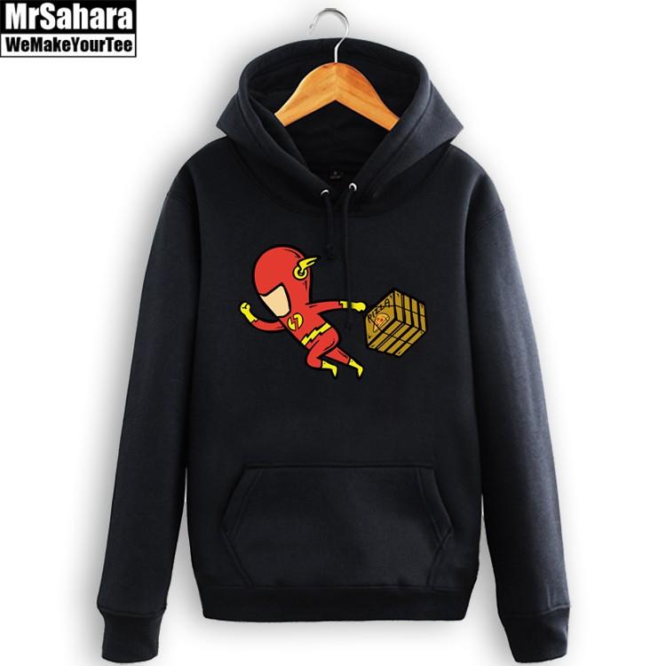 Merch Hoodie Flash Dc Comics Art Universe Pullover