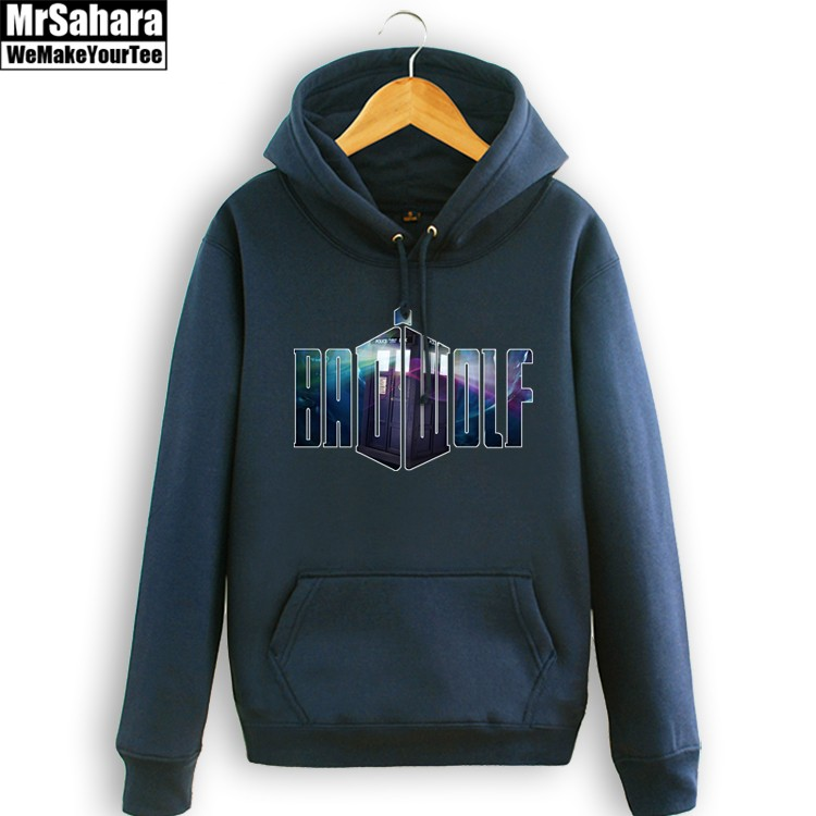Merch Hoodie Badwolf Doctor Who Universe Pullover
