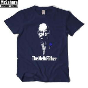 Collectibles - T-Shirt Mens Breaking Bad Godfather Crossover