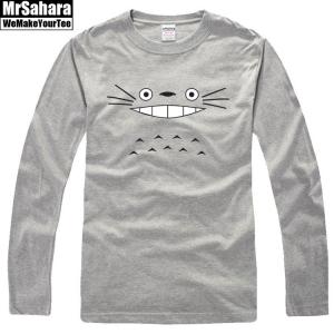 Merchandise Longsleeve Mens Totoro Characters Hayao Miyazaki