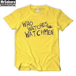 Collectibles T-Shirt Mens Who Watches Watchmen Dc Universe