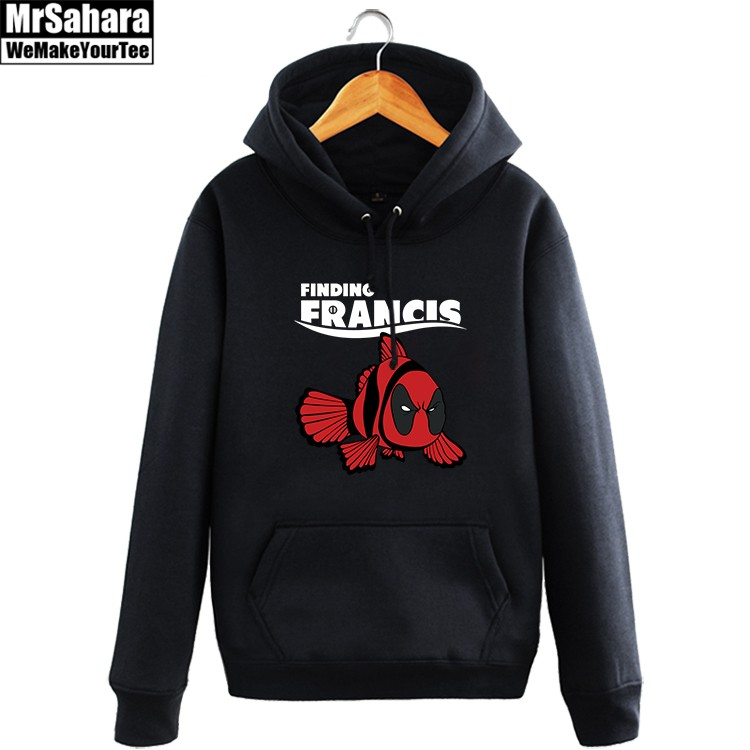 Merch Hoodie Deadpool Finding Francis Crossover Nemo Pullover