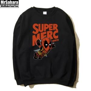 Collectibles Sweatshirt Super Merc Deadpool Crossover Black