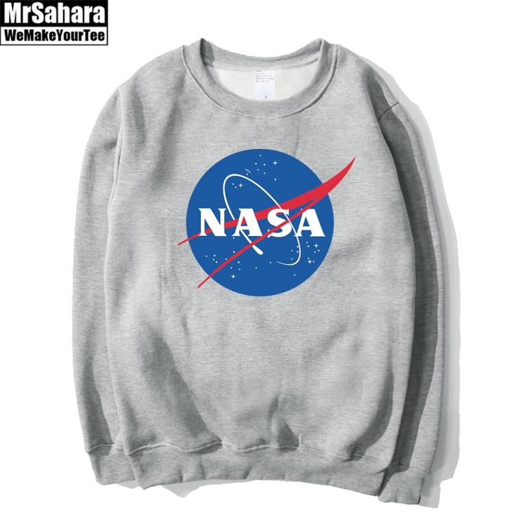 Collectibles Sweatshirt Space Agency Nasa Printed Logo