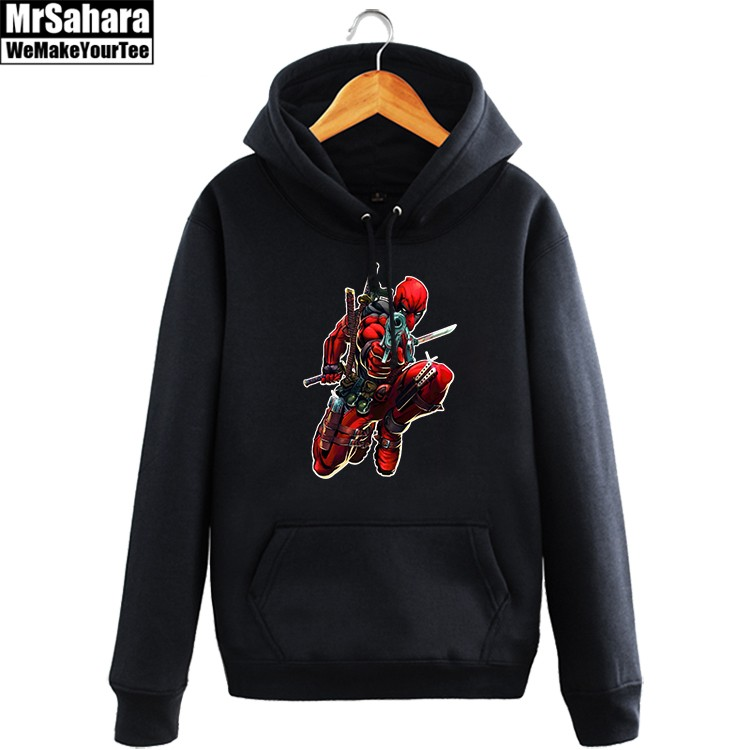 Merch Hoodie Deadpool Action Universe Marvel Pullover