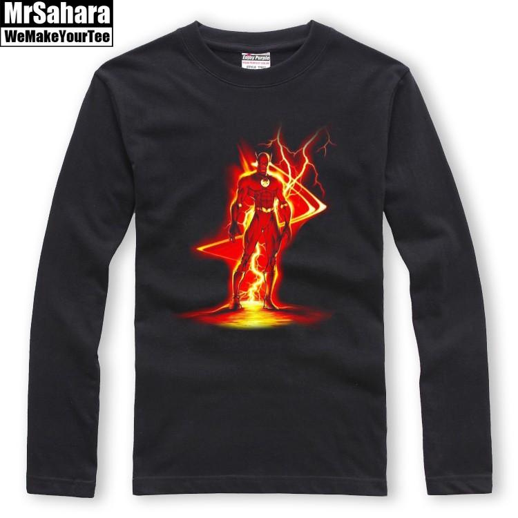 Buy Longsleeve mens Flash Fastest Man Alive DC