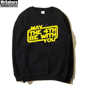 Merch Sweatshirt May The Force Be With You Star Wars