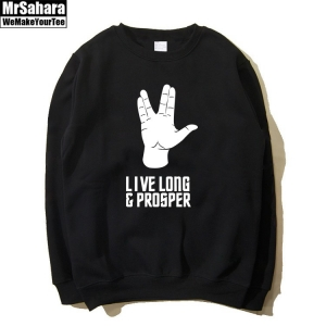 Merch Sweatshirt Star Trek Live Long And Prosper