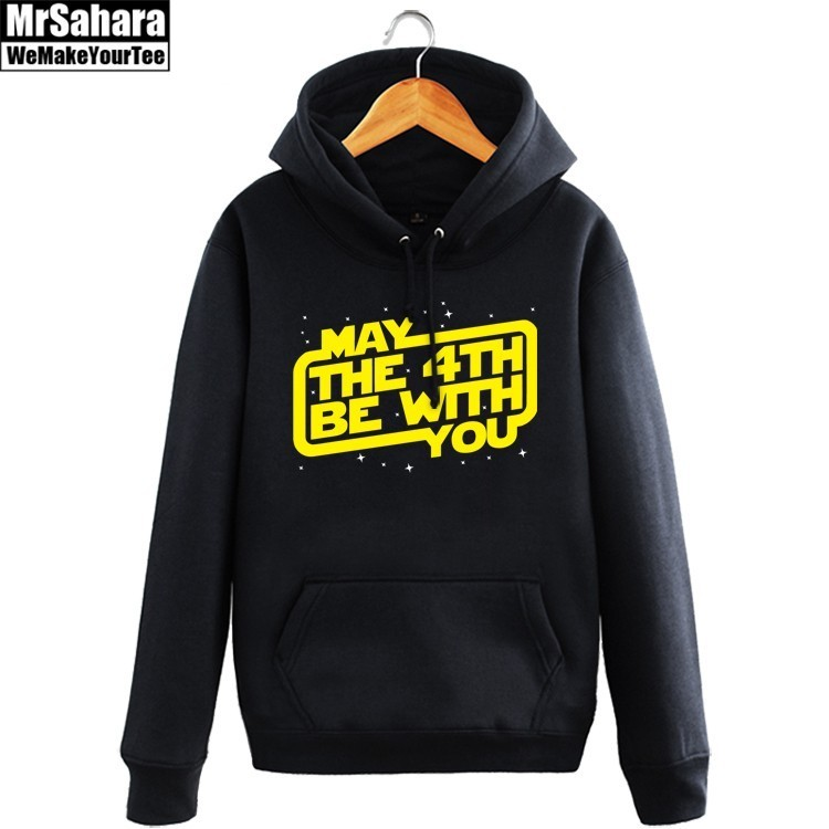 Merchandise Hoodie May The Force Be With You Star Wars Pullover