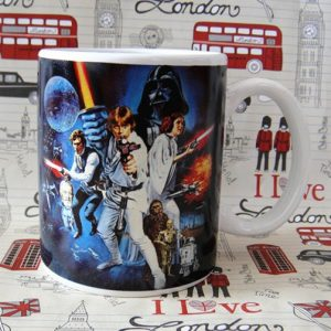 Buy Ceramic Mug Star Wars Classic Cover Cup merchandise collectibles