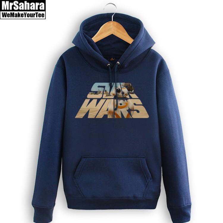 Merch Hoodie Star Wars Main Logo Title Pullover