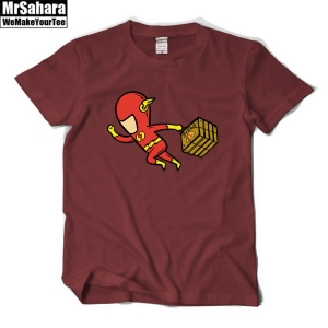 Buy T shirt Mens Flash Pizza Delivery Service DC