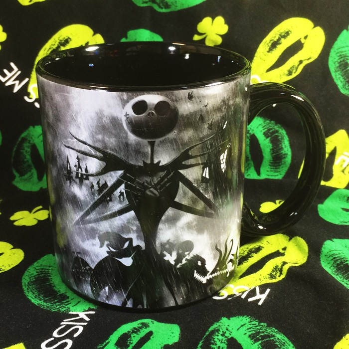 Buy Mug Black Nightmare Before Christmas Cup