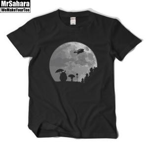 Merchandise T-Shirt Mens My Neighbour Totoro Moon Light Miyazaki