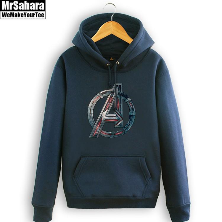 Collectibles Hoodie Avengers Assemble Logo Emblem Pullover