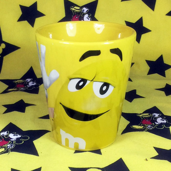 Buy Ceramic Mug M&M's Yellow Character Cup Merchandise collectibles