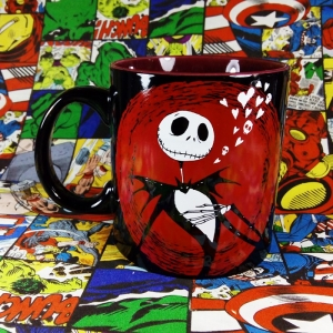 Buy Ceramic Mug jack skellington Burton Cartoon Cup merchandise collectibles