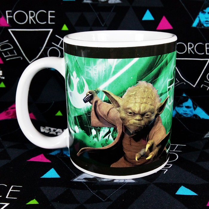 Buy Ceramic Mug Yoda Star Wars Jedi Master Cup merchandise collectibles