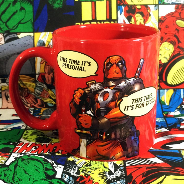 Buy Ceramic Mug Deadpool Comics Quotes Cup merchandise collectibles