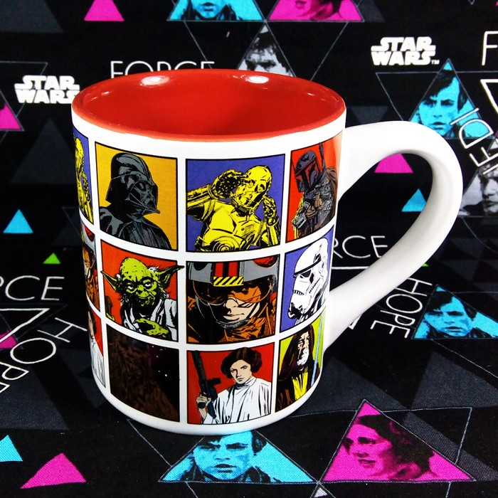 Buy Ceramic Mug Comic Star Wars Characters Cup merchandise collectibles