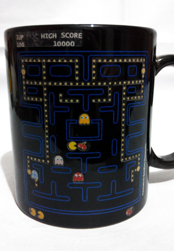 Buy Ceramic Mug Packman Old Retro Game Cup merchandise collectibles
