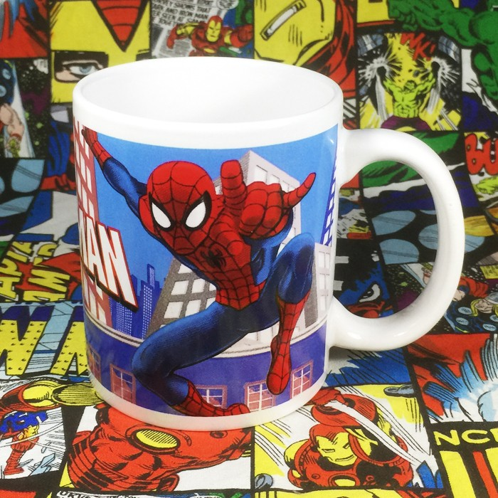 Buy Mug Spider man Comics Series Marvel Cup merchandise collectibles