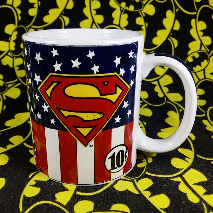 Buy Ceramic Mug Superman USA Superhero Cup merchandise collectibles